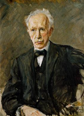 portrait du compositeur Richard Strauss