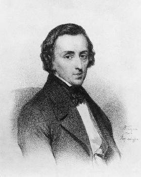 Frederic Chopin, after Ary Scheffer (1795-1858)