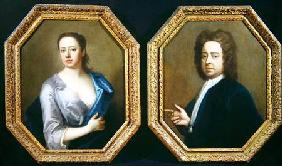 The Artist Hugh Howard (1675-1743) and his Wife Thomasine Langston Howard