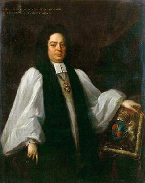 Portrait of Bishop John Robinson (1650-1723) c.1711 (oil on canvas)