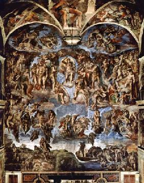 Sistine Chapel: The Last Judgement