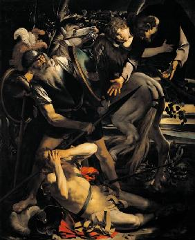 Caravaggio /Conversion of Paul,1st Vers.