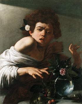 Caravaggio, Boy bitten by a Lizard