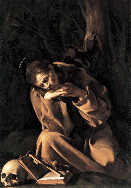 Caravaggio / St.Francis of Assisi / 1606