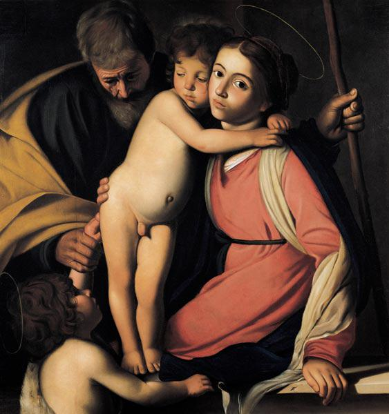 The Holy Family with John the Baptist as a Boy
