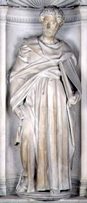St. Peter, from the Piccolomini altar