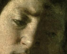 David with the Head of Goliath, 1606 (detail of 100349)