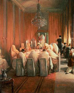 The Rothschild Family at Prayer