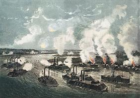 Bombardment and Capture of Island No.10 on the Mississippi River, 7th April 1862