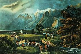 The Rocky Mountains: Emigrants Crossing the Plains