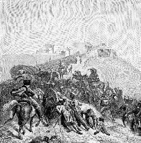The French Army Crossing the Sierra de Guadarrama on December 1808