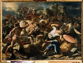 Victory of Joshua over the Amorites