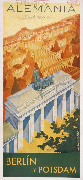 Brandenburg Gate , Spanish poster