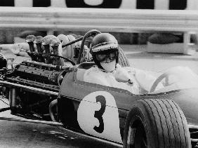 Austrian pilot Jochen Rindt at Grand Prix of Monaco