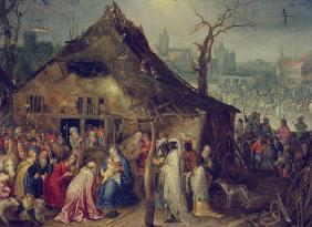 Adoration of the Kings / Brueghel t.E