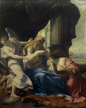 Death of Dido / Simon Vouet / Painting