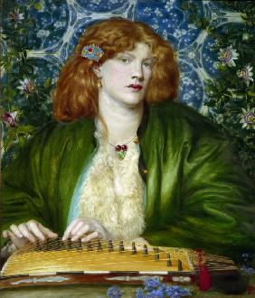 D.G.Rossetti / The Blue Bower.