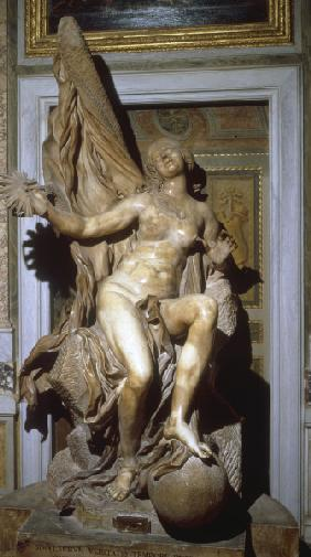 G.L.Bernini/Truth Unveiled by Time/Sculp