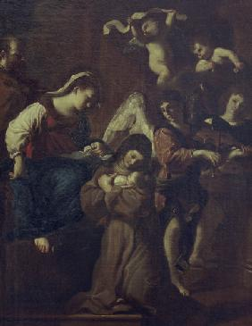 Guercino / Vision of St. Clare
