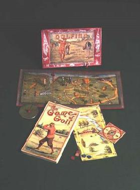 Golfing Board Games - American and English (photo)