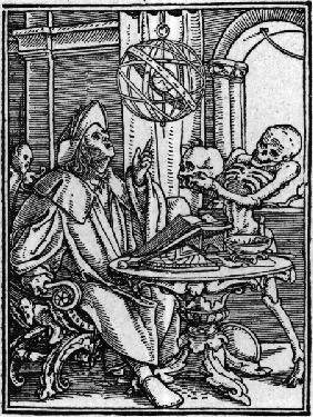 Holbein s Dance of Death / Astrologer