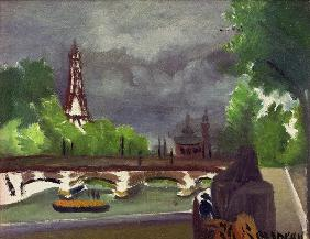 H.Rousseau, Eiffel Tower and Trocadéro