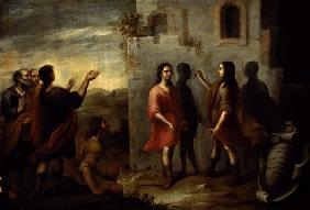 Invention of Painting / Murillo / c.1660