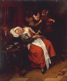 Jan Steen, The Doctor s Visit
