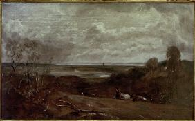 J.Constable / Dedham from Langham