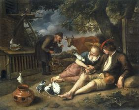 J.Steen, Allegory of Love.