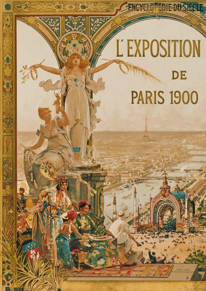 Paris, World Fair 1900, Poster