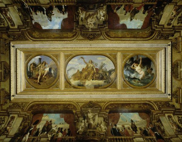 Paris assembl e nationale painting emile jean horace vernet - Magasin reproduction tableau paris ...