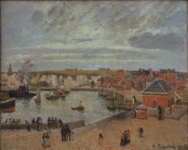 Camille Pissarro - Pissarro / The port of Dieppe / 1902