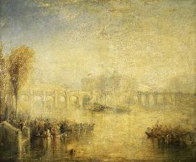 Paris/Pont Neuf/Painting/Turner