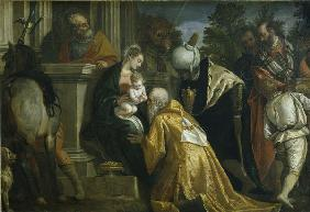 P.Veronese /Adoration of the Kings/ C16
