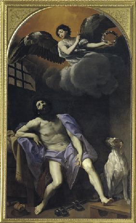 Reni / St.Roche in the Dungeon / c.1617