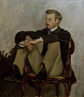 Renoir, Auguste/Painting by Bazille/1867