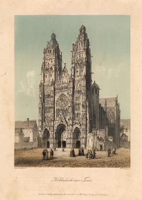 Tours, Kathedrale / French n.Asselinau