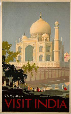 Visit India, The Taj Mahal