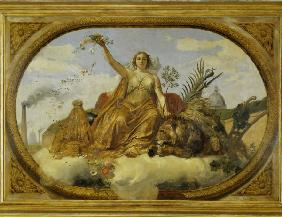 Vernet / Peace / Ceiling painting