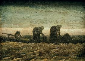 v.Gogh / In the moor / 1883