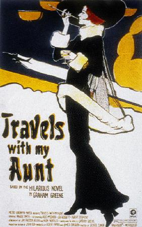 Voyages avec ma tante TRAVELS WITH MY AUNT de George Cukor avec Maggie Smith