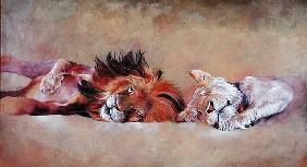 Siesta, 1999 (acrylic on canvas)