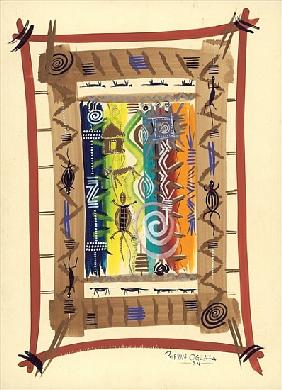 Habitation Signs, 2004 (w/c & ink on paper)