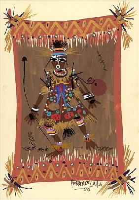 Messengers of Ashe 1, 2006 (w/c & ink on paper)