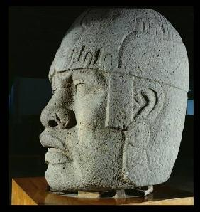 Colossal Head 4 from San Lorenzo, Veracruz, Mexico, preclassic
