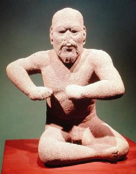 Figurine of a wrestler