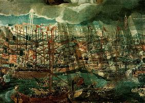 Allegory of the Battle of Lepanto (detail of 60381)