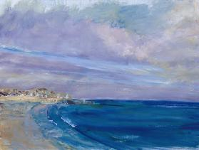 St. Ives Bay, 1997 (w/c on paper)