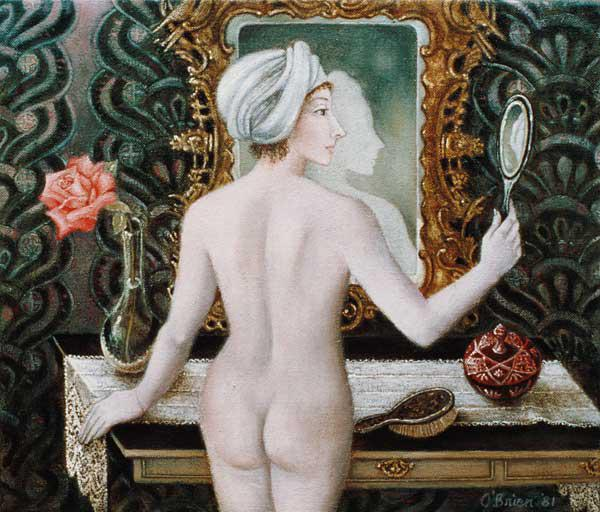 Girl before the Mirror